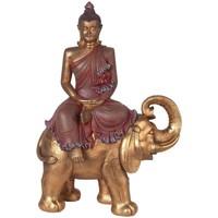 Casa Figuras decorativas Signes Grimalt Buda Sobre Elefante Dorado
