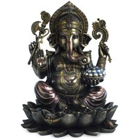 Casa Figuras decorativas Signes Grimalt Ganesha Gris