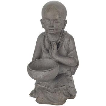 Casa Figuras decorativas Signes Grimalt Buda Con Pocillo Pequeño Gris