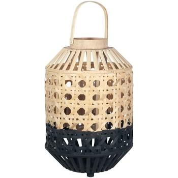 Casa Decoración luminosa, linternas Signes Grimalt Farol Bambú  Natural Negro