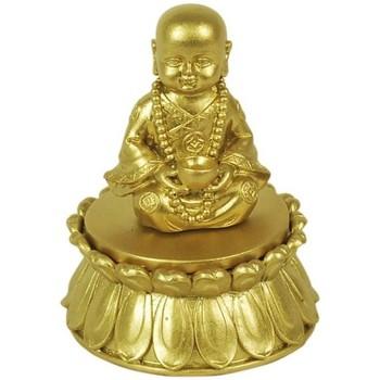 Casa Figuras decorativas Signes Grimalt Buda Con Caja Dorado Dorado