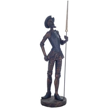 Casa Figuras decorativas Signes Grimalt Don Quijote De Pie Dorado