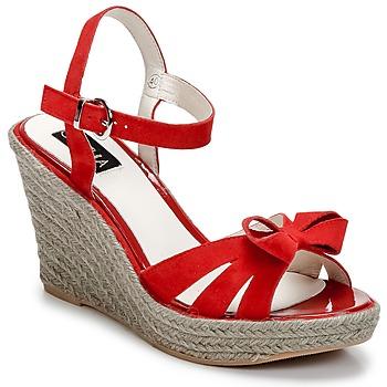 Zapatos Mujer Sandalias C.Petula SUMMER Rojo