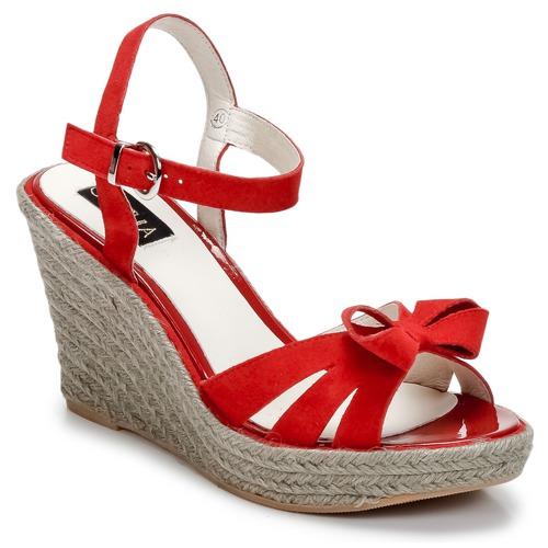 Casual salvaje Zapatos especiales C.Petula SUMMER Rojo