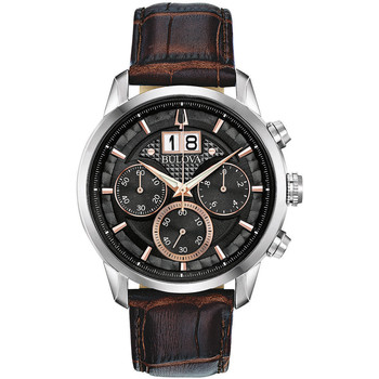 Relojes & Joyas Hombre Relojes analógicos Bulova 96B311, Quartz, 44mm, 3ATM Plata