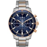 Relojes & Joyas Hombre Relojes analógicos Bulova 98B301, Quartz, 45mm, 20ATM Plata