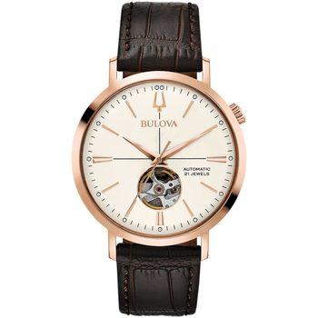 Relojes & Joyas Hombre Relojes analógicos Bulova 97A136, Automatic, 41mm, 3ATM Oro
