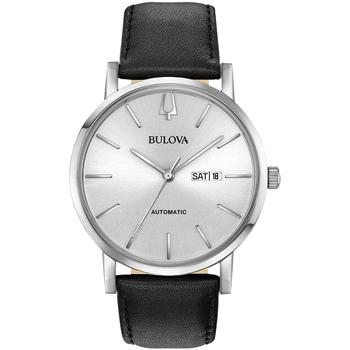 Relojes & Joyas Hombre Relojes analógicos Bulova 96C130, Automatic, 42mm, 3ATM Plata