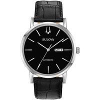 Relojes & Joyas Hombre Relojes analógicos Bulova 96C131, Automatic, 42mm, 3ATM Plata