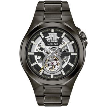 Relojes & Joyas Hombre Relojes analógicos Bulova 98A179, Automatic, 46mm, 10ATM Negro