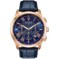 Relojes & Joyas Hombre Relojes analógicos Bulova 97B170, Quartz, 46mm, 3ATM Oro