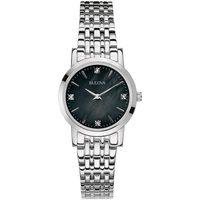 Relojes & Joyas Mujer Relojes analógicos Bulova 96P148, Quartz, 27mm, 3ATM Plata