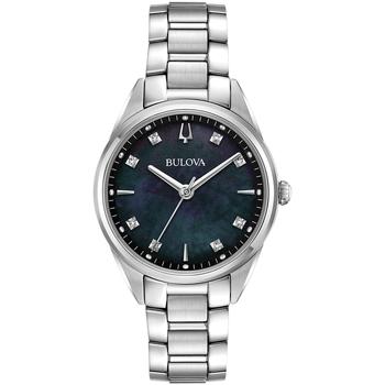 Relojes & Joyas Mujer Relojes analógicos Bulova 96P198, Quartz, 34mm, 3ATM Plata
