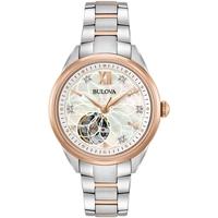 Relojes & Joyas Mujer Relojes analógicos Bulova 98P170, Automatic, 34mm, 3ATM Oro
