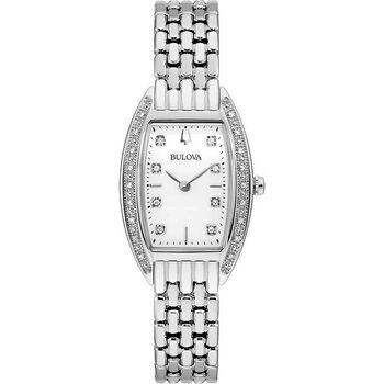 Relojes & Joyas Mujer Relojes analógicos Bulova 96R244, Quartz, 24mm, 3ATM Plata