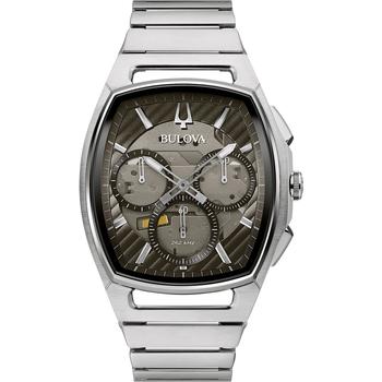Relojes & Joyas Hombre Relojes analógicos Bulova 96A257, Quartz, 41mm, 3ATM Plata