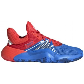 Zapatos Niño Baloncesto adidas Originals  Azul