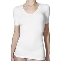 Ropa interior Mujer Camiseta interior Janira Camiseta  Perfect Day Cotton 1045207 Black