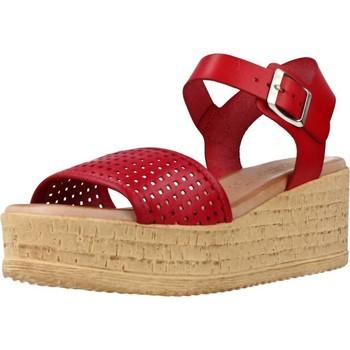 Zapatos Mujer Sandalias Cokketta 1031Y Rojo