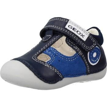Zapatos Niño Zapatillas bajas Geox B TUTIM B. A Azul