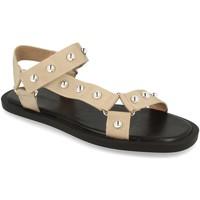 Zapatos Mujer Sandalias Buonarotti 1DB-1148 Beige
