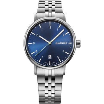 Relojes & Joyas Hombre Relojes analógicos Wenger 01.1731.121, Quartz, 40mm, 10ATM Plata