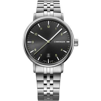 Relojes & Joyas Hombre Relojes analógicos Wenger 01.1731.120, Quartz, 40mm, 10ATM Plata