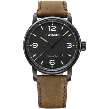 Relojes & Joyas Hombre Relojes analógicos Wenger 01.1746.102, Automatic, 45mm, 10ATM Plata