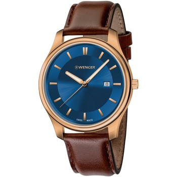 Relojes & Joyas Hombre Relojes analógicos Wenger 01.1441.119, Quartz, 43mm, 3ATM Oro