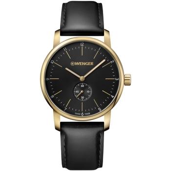 Relojes & Joyas Hombre Relojes analógicos Wenger 01.1741.101, Quartz, 44mm, 10ATM Oro