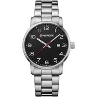 Relojes & Joyas Hombre Relojes analógicos Wenger 01.1641.102, Quartz, 42mm, 10ATM Plata