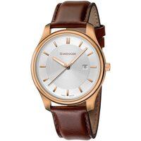 Relojes & Joyas Hombre Relojes analógicos Wenger 01.1441.107, Quartz, 43mm, 3ATM Oro