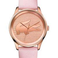 Relojes & Joyas Mujer Relojes analógicos Lacoste 2000997, Quartz, 38mm, 3ATM Oro