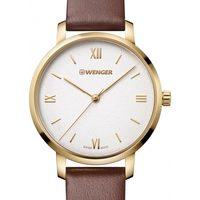 Relojes & Joyas Mujer Relojes analógicos Wenger 01.1731.106, Quartz, 38mm, 10ATM Oro