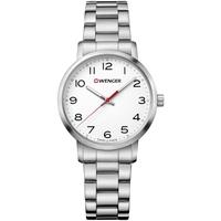 Relojes & Joyas Mujer Relojes analógicos Wenger 01.1621.104, Quartz, 35mm, 10ATM Plata