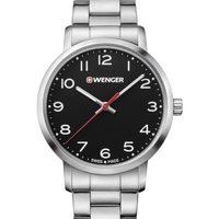 Relojes & Joyas Mujer Relojes analógicos Wenger 01.1621.102, Quartz, 35mm, 10ATM Plata