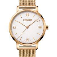 Relojes & Joyas Mujer Relojes analógicos Wenger 01.1731.107, Quartz, 38mm, 10ATM Oro
