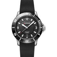 Relojes & Joyas Mujer Relojes analógicos Wenger 01.0621.110, Quartz, 36mm, 20ATM Plata