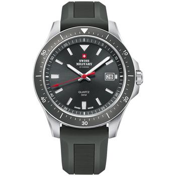 Relojes & Joyas Hombre Relojes analógicos Swiss Military By Chrono SM34082.09, Quartz, 42mm, 5ATM Plata