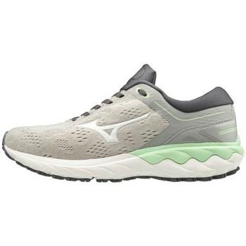 Zapatos Mujer Zapatillas bajas Mizuno Wave Skyrise Blanco, Grises, Verde claro