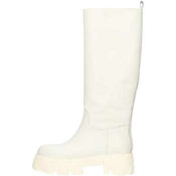 Zapatos Mujer Botas urbanas Made In Italia CAPITAL01 blanco