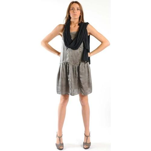 textil Mujer Vestidos cortos Sud Express ROBE ROKLOU BRONZE Oro