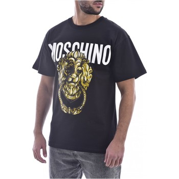 textil Hombre Camisetas manga corta Moschino T-Shirts ZA0716 - Hombres negro