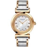 Relojes & Joyas Mujer Relojes analógicos Versace P5Q80D499S089, Quartz, 35mm, 3ATM Oro