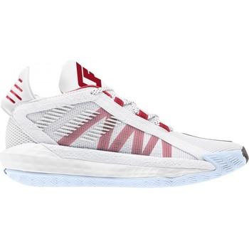 Zapatos Niño Baloncesto adidas Originals  Blanco
