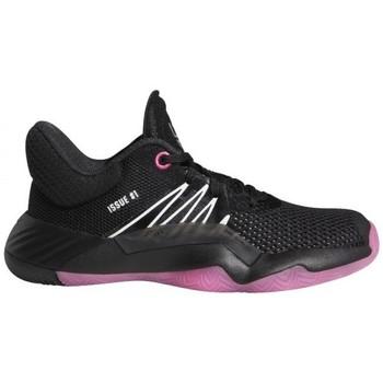 Zapatos Niño Baloncesto adidas Originals  Negro