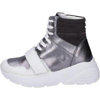 Zapatos Mujer Zapatillas altas Twin Set BJ482 Gris