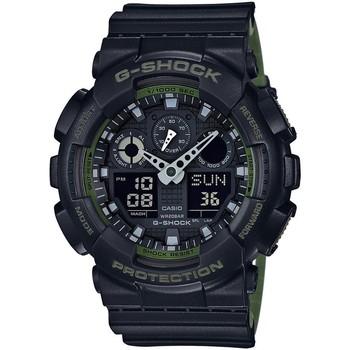 Relojes & Joyas Hombre Relojes analógicos Casio GA-100L-1AER, Quartz, 51mm, 20ATM Negro