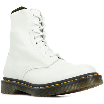 Zapatos Mujer Botas de caña baja Dr Martens 1460 Pascal Blanco