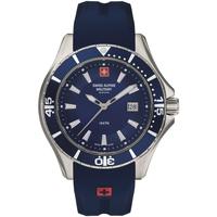 Relojes & Joyas Hombre Relojes analógicos Swiss Alpine Military 7040.1835, Quartz, 45mm, 10ATM Azul